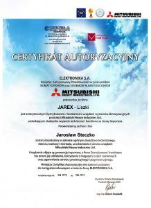 Klimatyzacja Kraków Certyfikaty