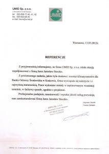 Klimatyzacja Kraków Referencje
